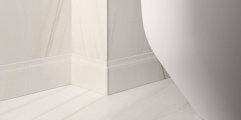 italon tiles charme extra marble effect porcelain stoneware white tiles
