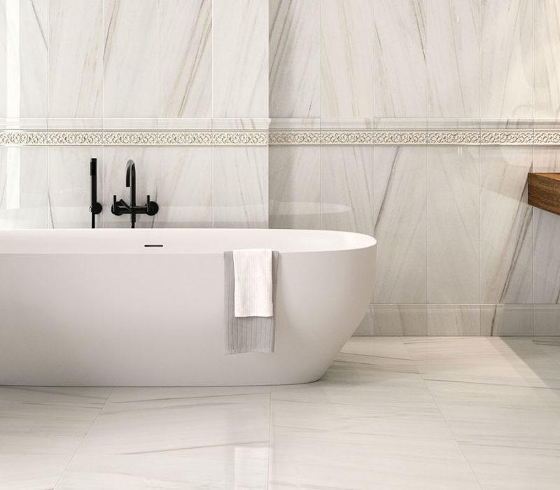 italon tiles room mrble effect porcelain stoneware white tiles